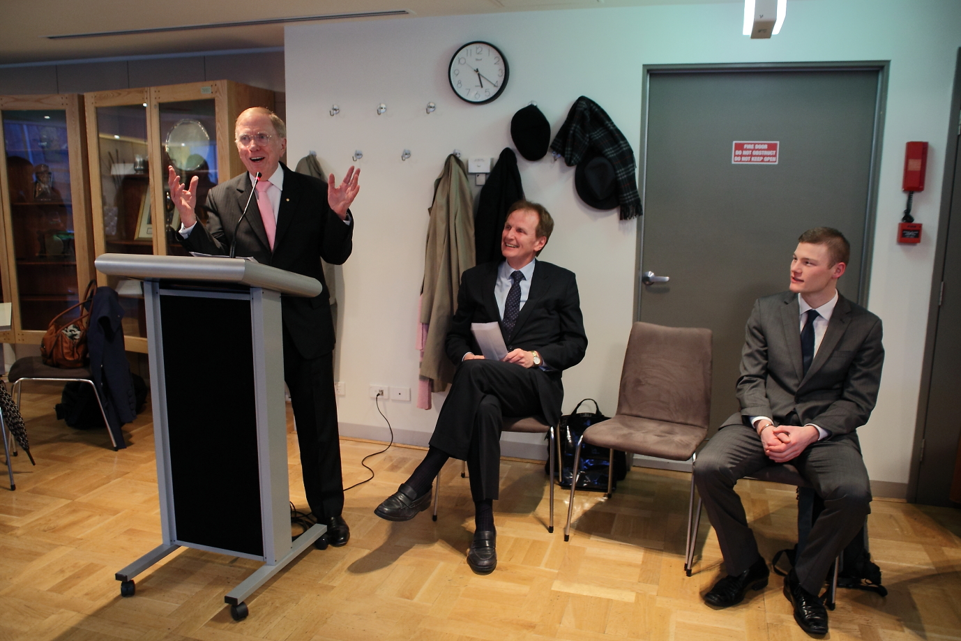 The Hon. Michael Kirby; Graeme McEwen; and Adam Ray (contributing author)