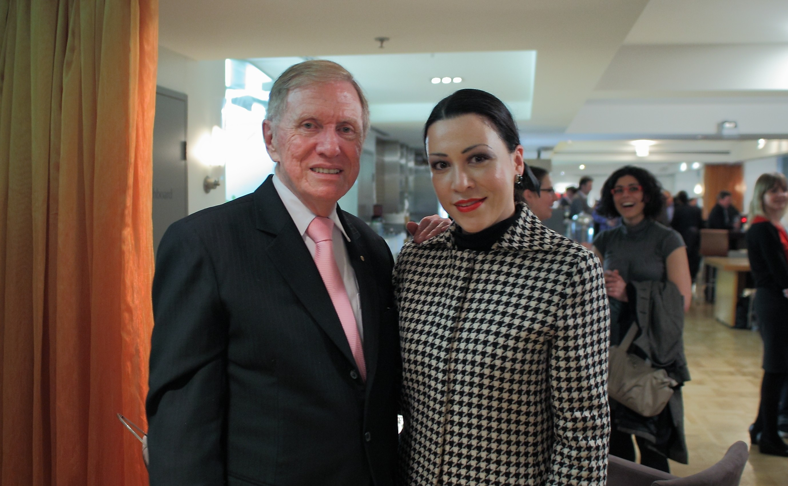 The Hon. Michael Kirby; Marian Clarkin of counsel