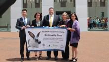 Senate ban cosmetic testing
